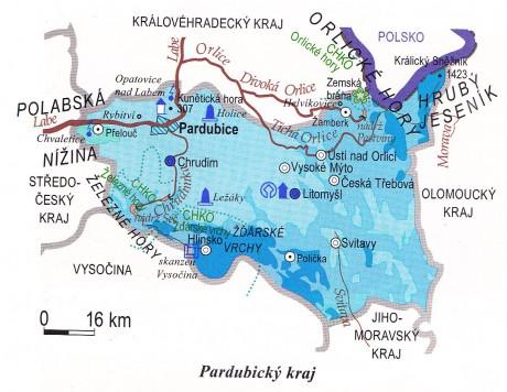 On Line Procvicovani Fotoalbum Kraje Pardubicky Kraj Mapa